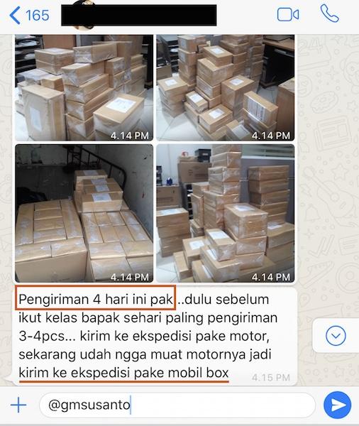 ratusan paket